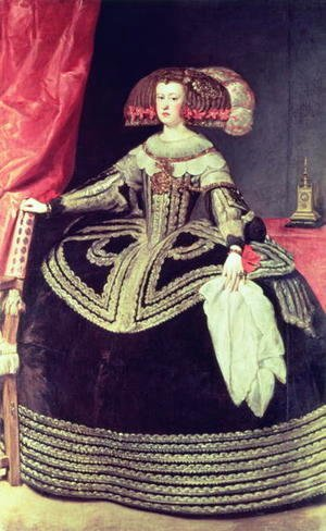 Velazquez - Queen Maria Anna of Spain