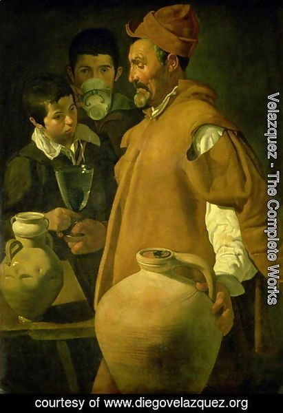 Velazquez - The Water Seller of Seville 1620