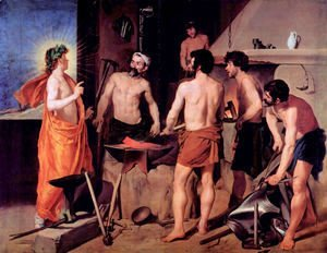 Velazquez - The smithy of volcano