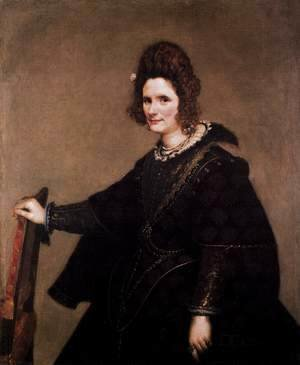 Velazquez - Portrait of a Lady