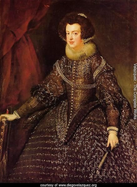Queen Isabella of Spain wife of Philip IV