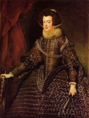 Velazquez - Queen Isabella of Spain wife of Philip IV