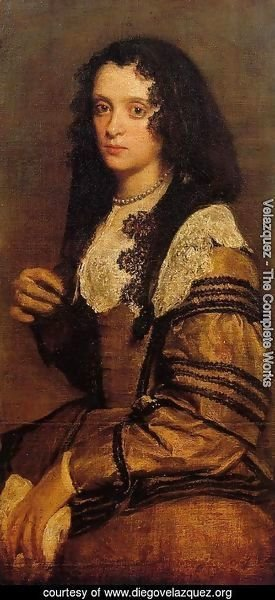 Velazquez - A Young Lady