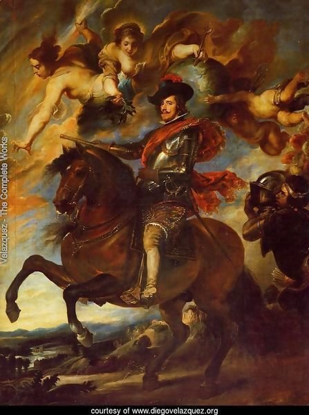 Allegorical Portrait Of Philip IV
