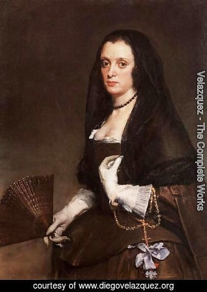 Velazquez - Lady With A Fan
