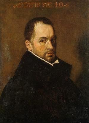 Velazquez - Portrait Of A Cleric