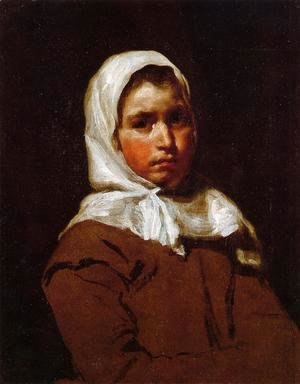 Velazquez - Young Peasant Girl